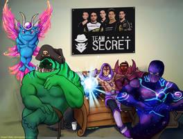 Team Is Secret by kiwisparked