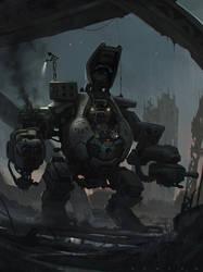 Robot by SaeedRamez