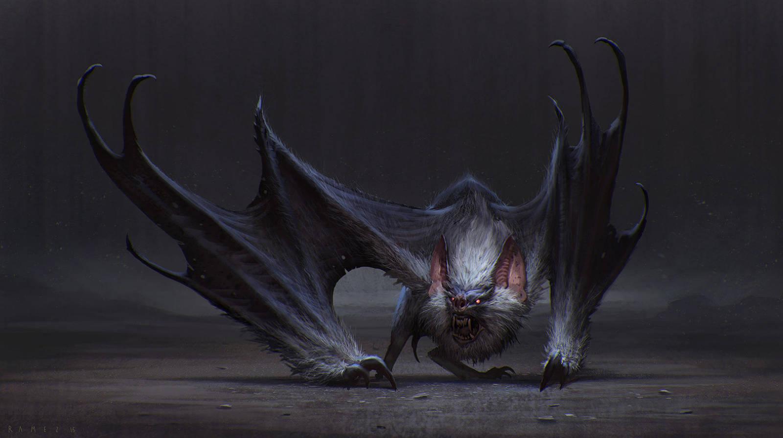 Bat by SaeedRamez