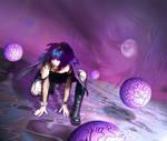 Stroll around Planet Purple by Priest-of-Sorrow