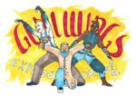 Gullwings Explore! [Final Fantasy X-2] by Jeanne24