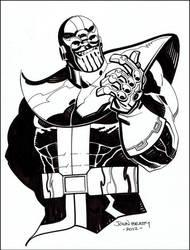 Thanos by johnbeatty