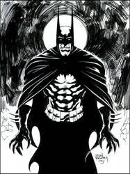 Vampire Batman by johnbeatty