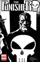 The Punisher Sketch Cover! by johnbeatty