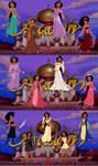 Princess Jasmine Wardrobe Compilation by dcfan0590