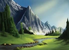 Landscape Study 2 by Orbes