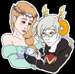 Adelais and Leothalis by NanzzyRulezz