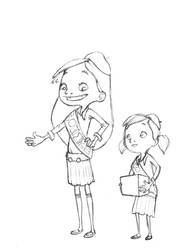 girl scouts by TaNBourinE