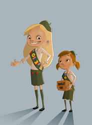 Girl Scouts 2 by TaNBourinE