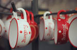 Cups on x-mas market by pollykorn