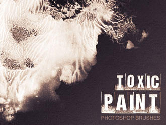 Toxic Paint Brushes by brushfs