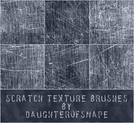 Scratch Texture Brushes by brushfs