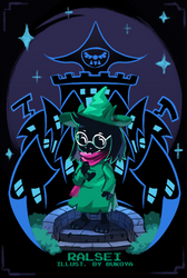 Ralsei by Bukoya-Star