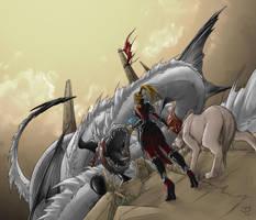 Fantasy01 colored by crimson-nemesis