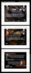 2011 5FINITY Abbott/Dean Autograph Card Designs by NGoff