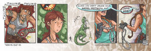 Tomb Raider NEW vs OLD 5 by NGoff