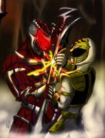 Tommy vs Lord Zedd by MythologyArts