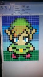 Link pixel art by Metaroy110