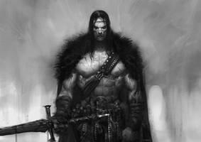 Etude Paint - Warrior by numonquallet