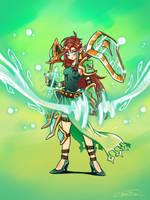 Fecra, the ranged shield by taitsujin