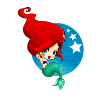 A Little Mermaid . by Virquois