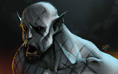 The Pale Orc by vashperado
