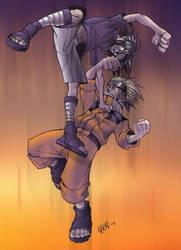 Naruto vs. Sasuke - Ryouko by vashperado