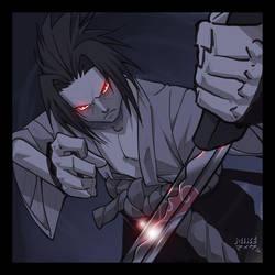 Uchiha Sasuke - Hansei by vashperado