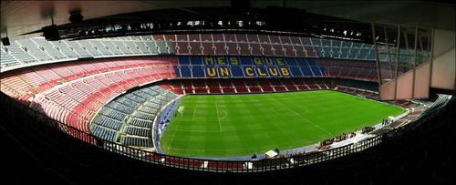 Barcelona: Camp Nou by chaosmo
