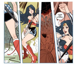 Sensation Comics ft. Wonder Woman #7 by MargueriteSauvage