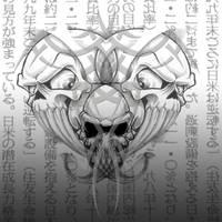 Tribal Skull by digitalsurgery