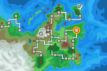 Pokemon World Map favourites by Gojifan1996 on DeviantArt