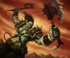 Orc Triumphant by faxtar