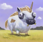 Chase, the Magical Unicorn by faxtar