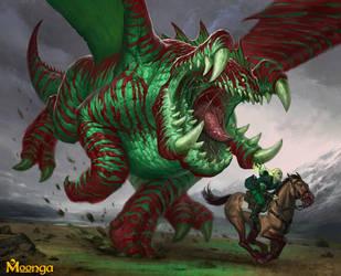 Omnom Dragon by faxtar