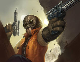 Outer Rim Hunter by faxtar