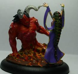 Studio mvey Morgana Demon WIP by mlceates