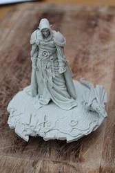 Elf Dragon Prince (resin model figure) by mlceates