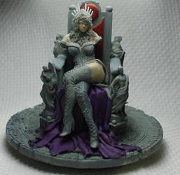 vampire queen WIP by mlceates