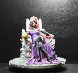 Vampire Queen (WIP) by mlceates