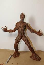Groot 1:9th scale model (WIP) by mlceates