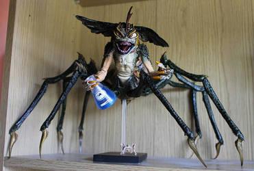 NECA Spider Gremlin by mlceates