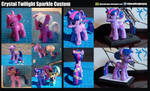Crystal Twilight Sparkle Custom by ELJOEYDESIGNS
