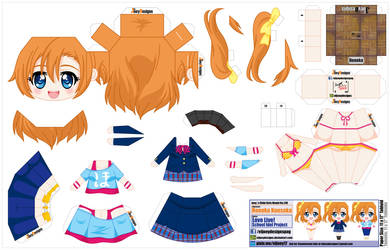 Honoka Kousaka (JCG 139) by ELJOEYDESIGNS