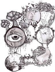 Garden of Experiences by RainyBreath