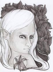 Black Lily by RainyBreath