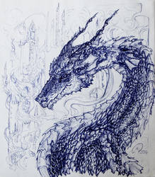 Underwater Dragon by RainyBreath