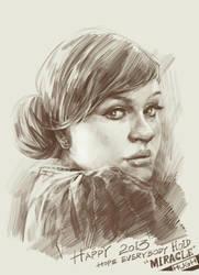 Adele by Cizou