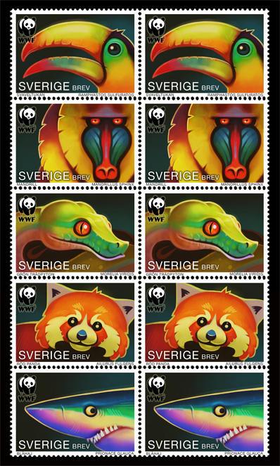 Animal Stamps by einen