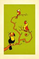 Parrots by einen